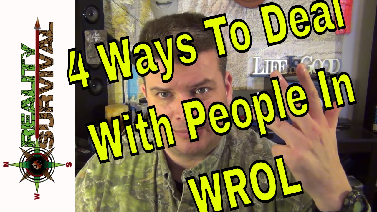 Four Ways To Deal With People In WROL