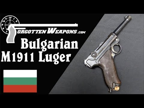 Bulgarian M1911 Luger