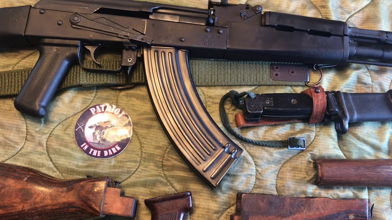 WASR 10 Romanian AK 47 Wood Furniture Project Intro