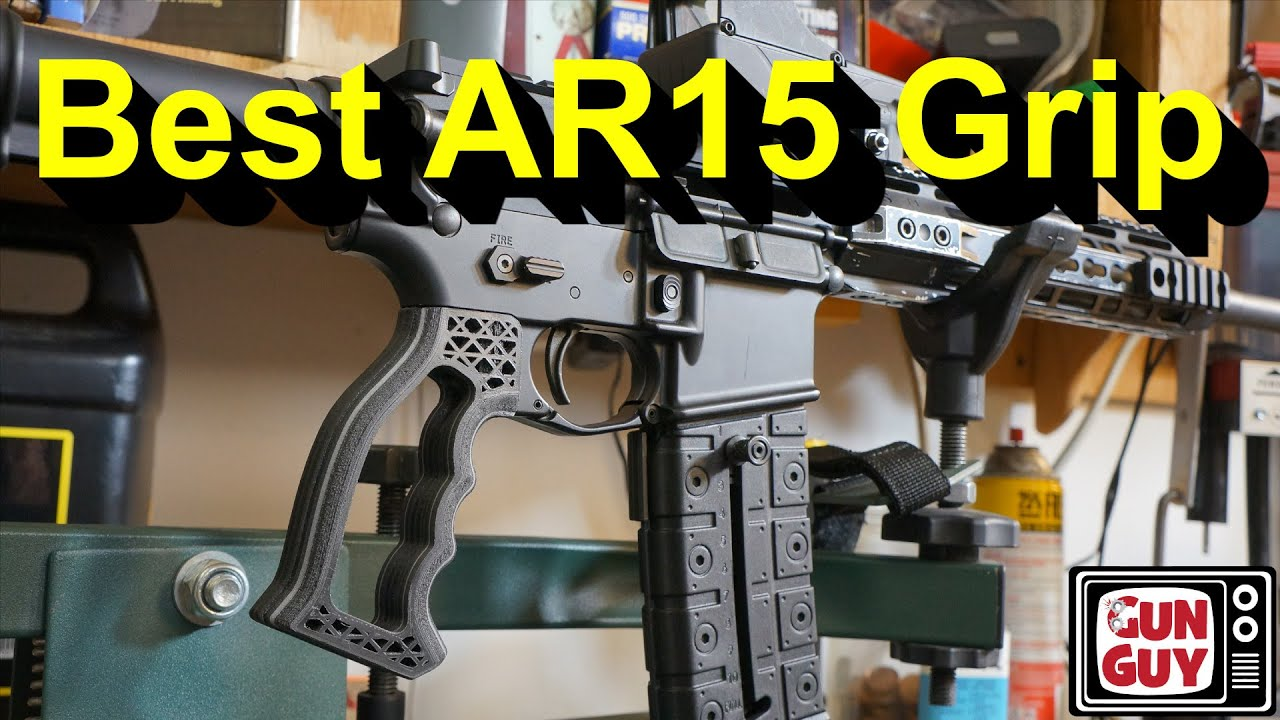 The Best and Lightest Grip For Your AR15.