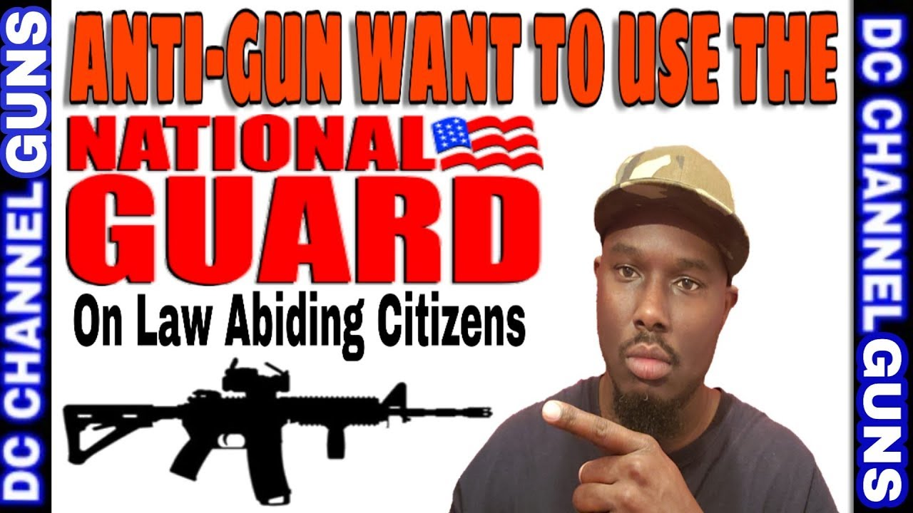 Anti-Gun Suggested Activate National Gaurd To  Force Citizens To Honor Gun Control | GUNS