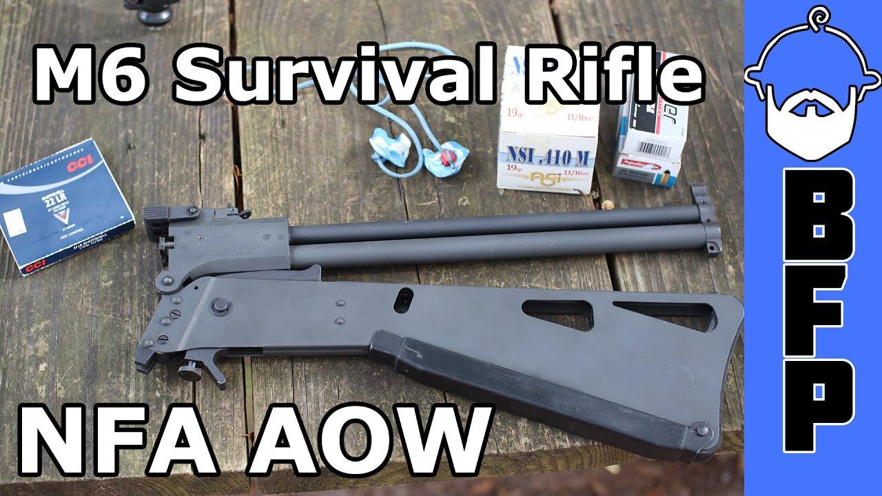 M6 Survival Rifle AOW