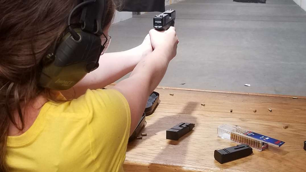 My middle child loves her 22
