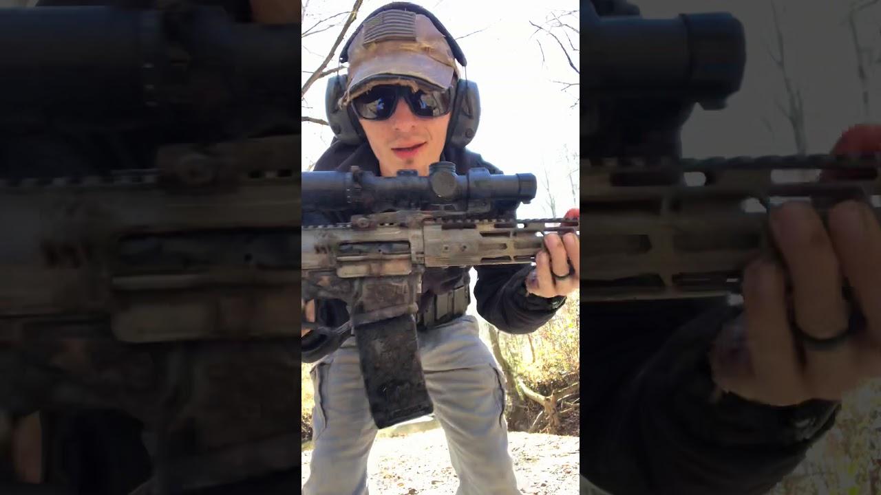 Ati Ar15 pistol torture test w/Sightmark Citadel
