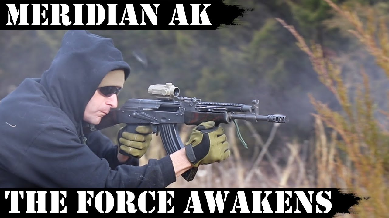 Meridian AK: The Force Awakens - 4,000 Rds in Sand!