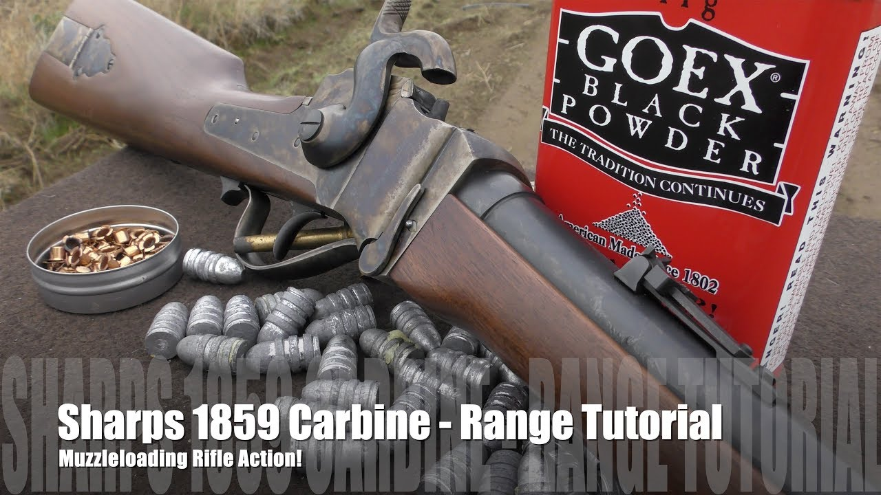 Sharps 1859 Carbine - Loading & Shooting
