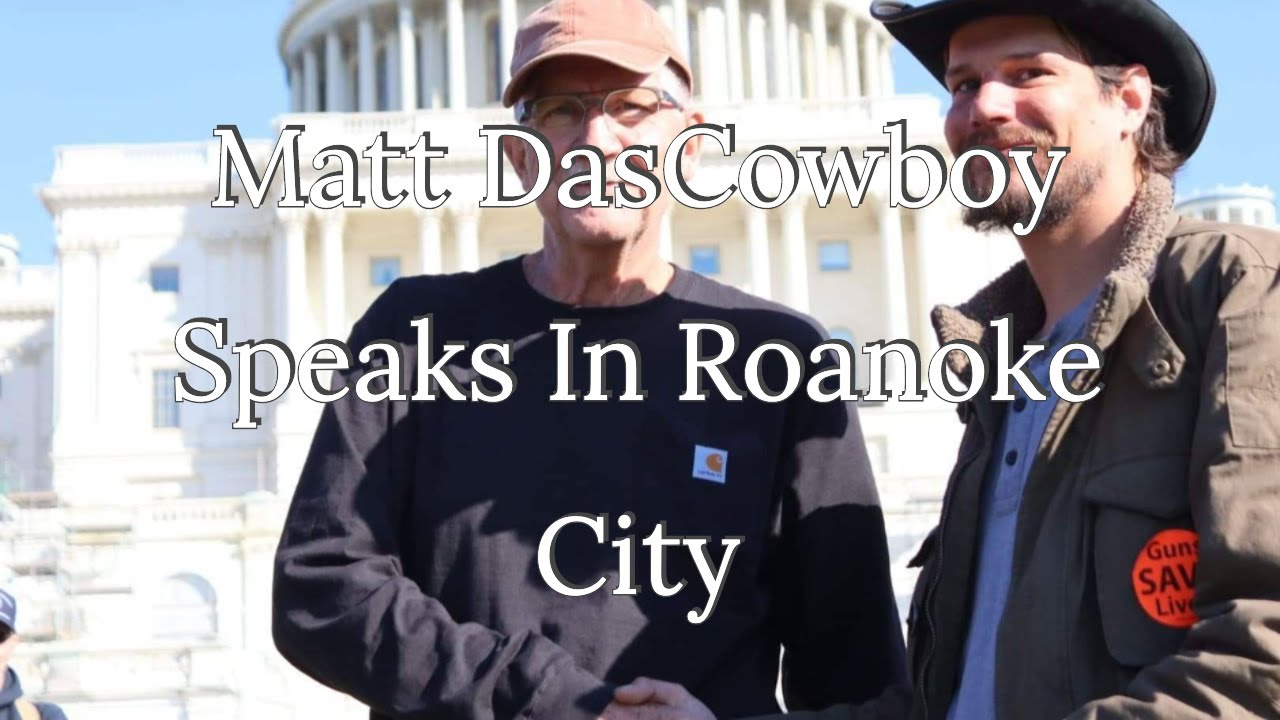 Producer Cowboy Speaks On The Second Amendment At The Roanoke City Council Meeting