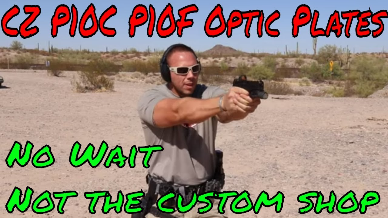 CZ P10 Optic Plate Options RMR/Vortex From 401 Manufacturing