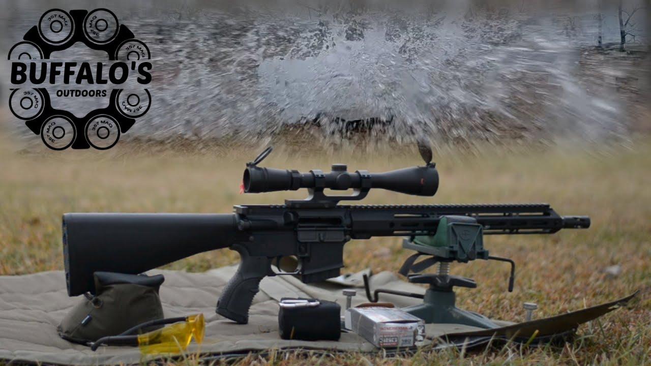 .350 Legend ~ 100 Yard Water Test