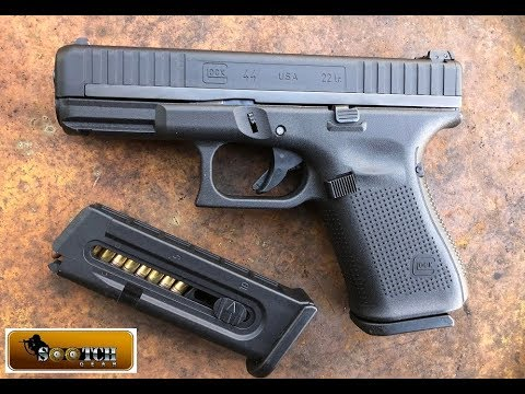 Glock G44 22 LR Pistol Full Review Revised