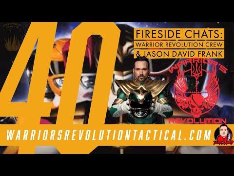 Fireside Chats 40: Jason David Frank & Warrior's Revolution