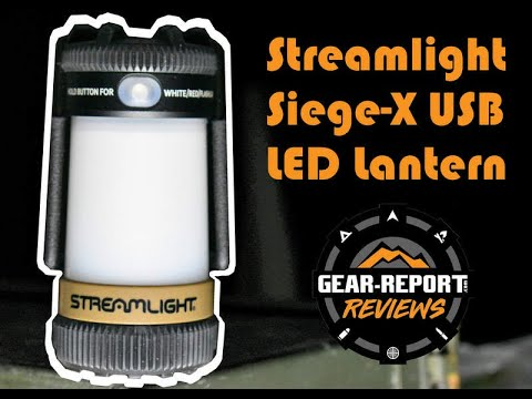 Streamlight Siege LED Rechargeable Lanterns Review