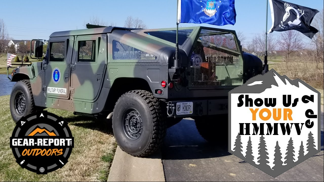 Show Us Your HMMWV - E2 M1025 Humvee in Sweden and the Honor Ride HMMWV Hearse