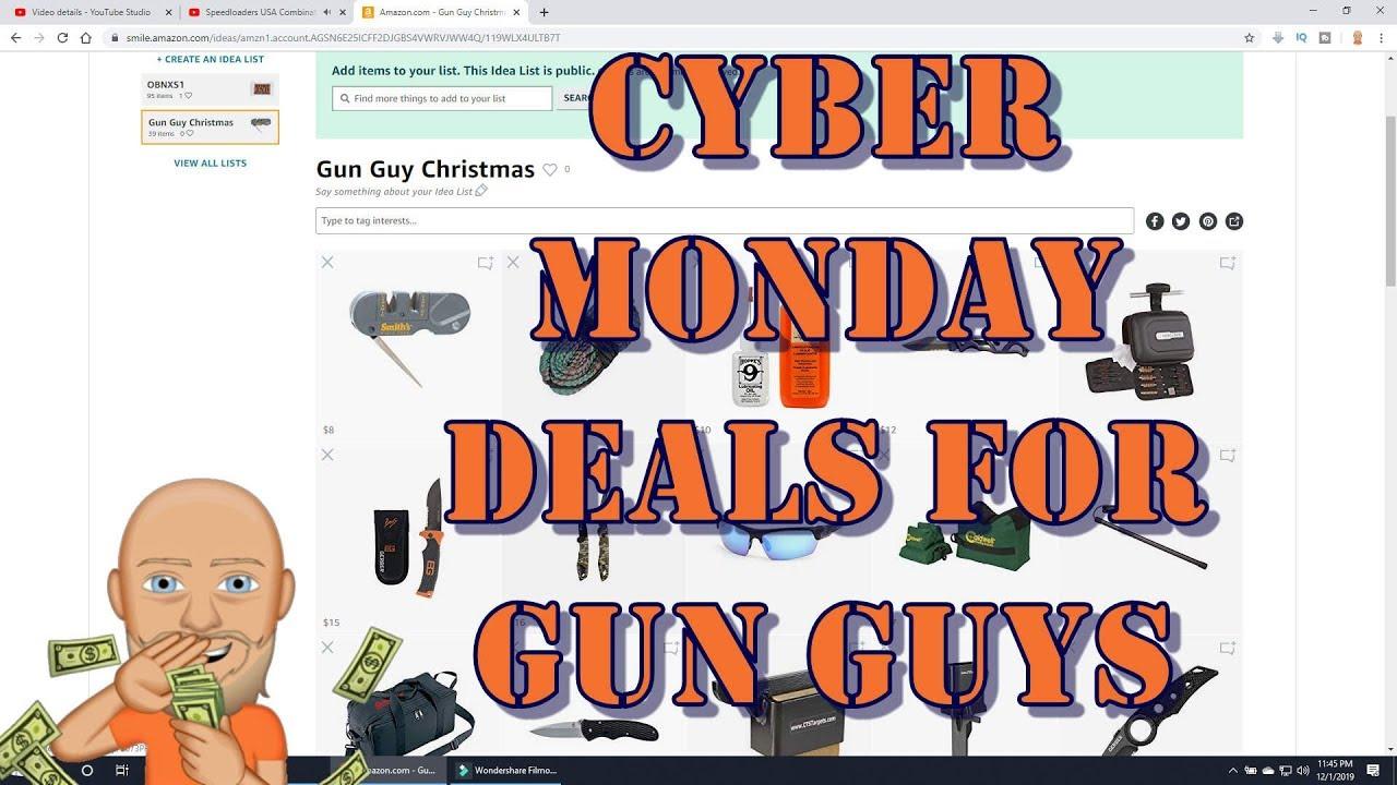 Amazon Cyber Monday Deals for Gun Guys