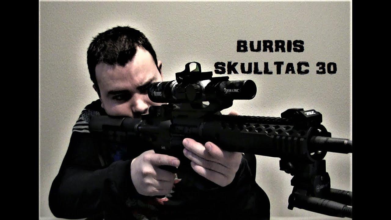 Burris Skulltac 30 Scope [With Fastfire 3]