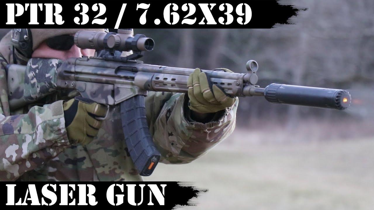 PTR 32 / 7.62x39 - Laser Gun!