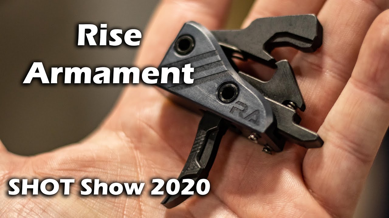 Great Triggers Now Better?! - Rise Armament SHOT Show 2020