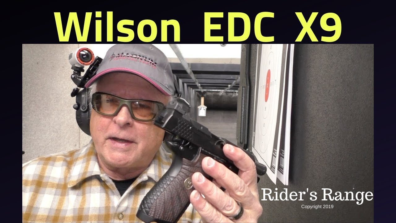 Wilson EDC X9 - Rider's Range On The Road at Magnum Shooting Center