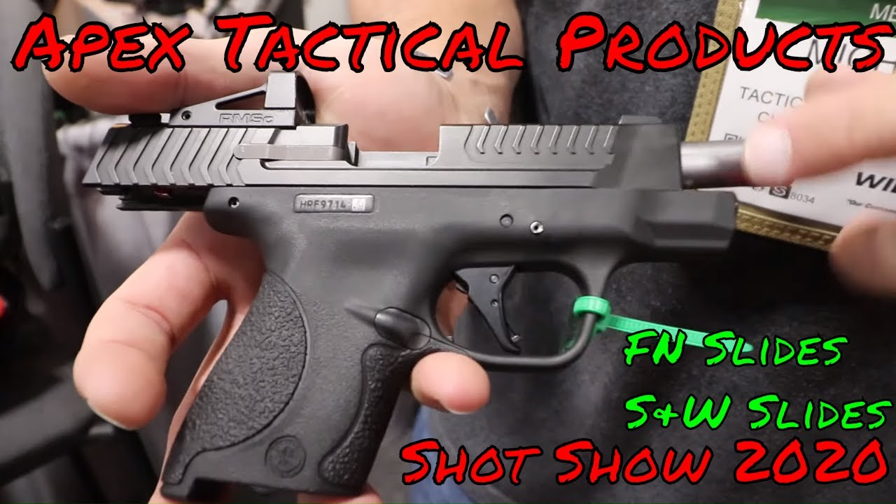 Apex Shot 2020 FN And Smith & Wesson New Products