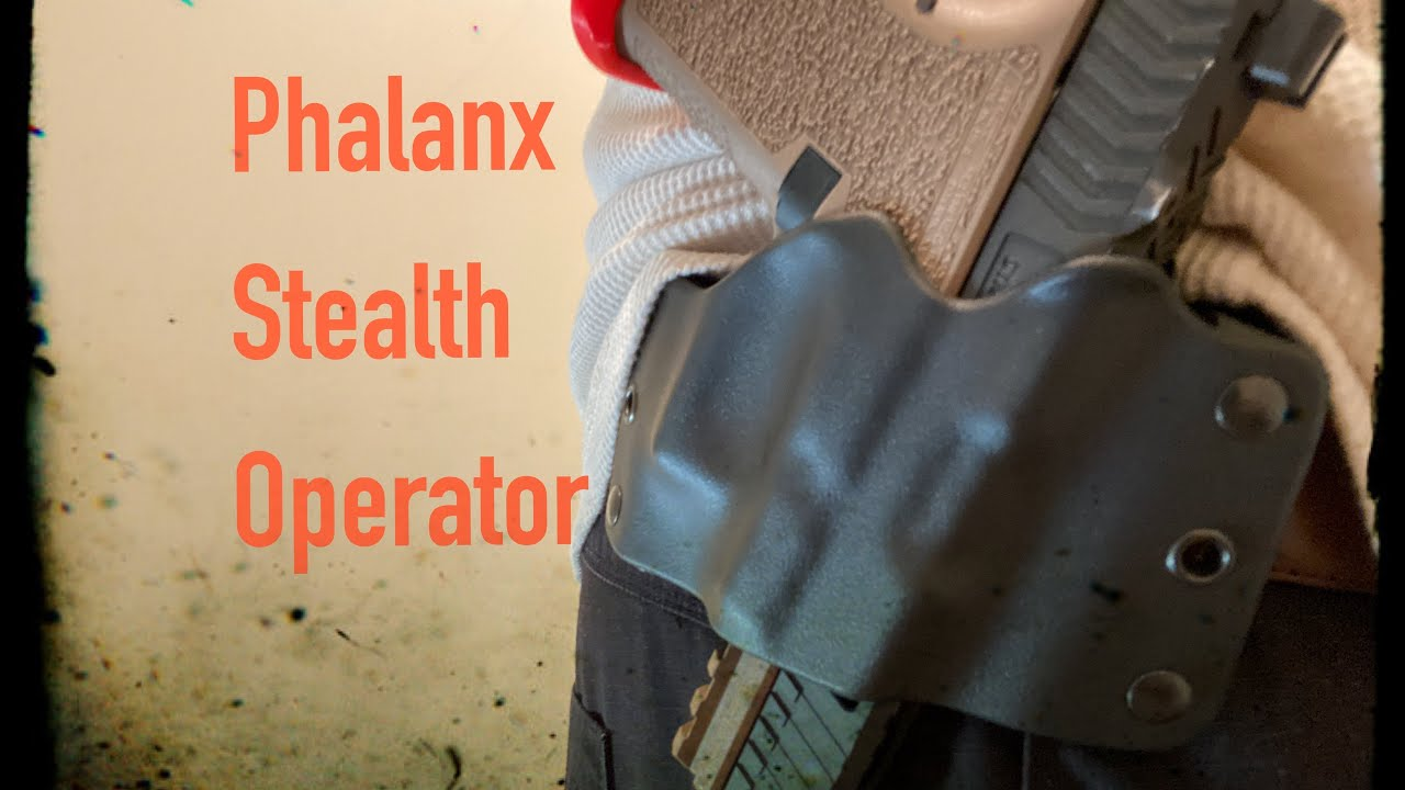 Stealth Operator Holster| Phalanx Defense Systems