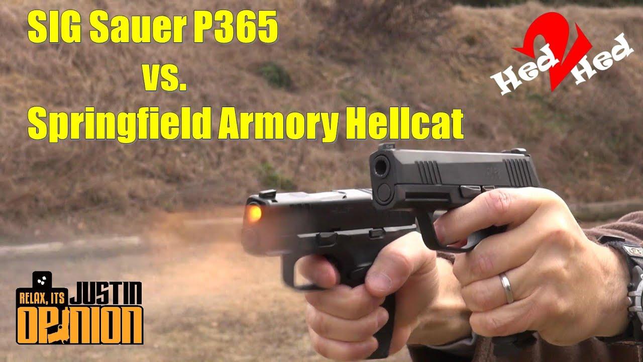 Hellcat vs P365