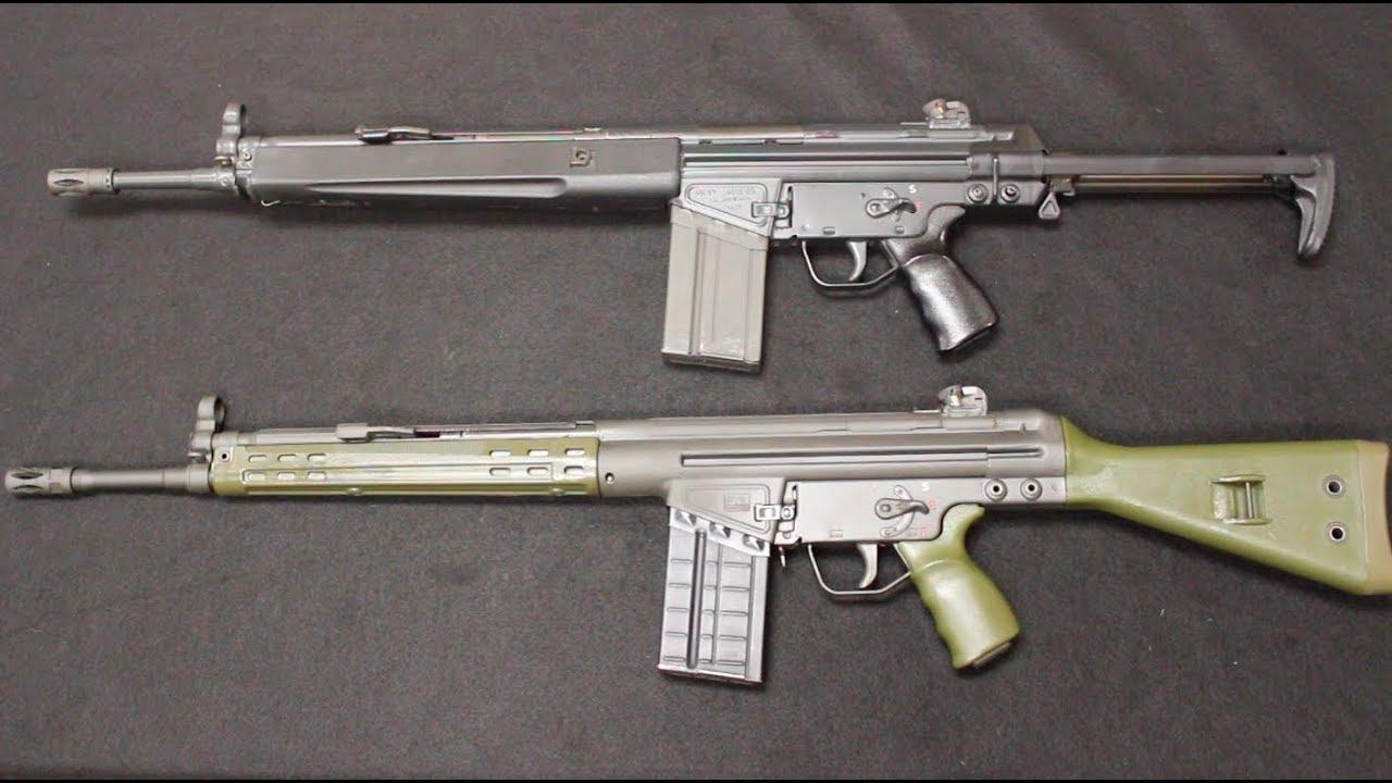 PTR 91 vs HK 91