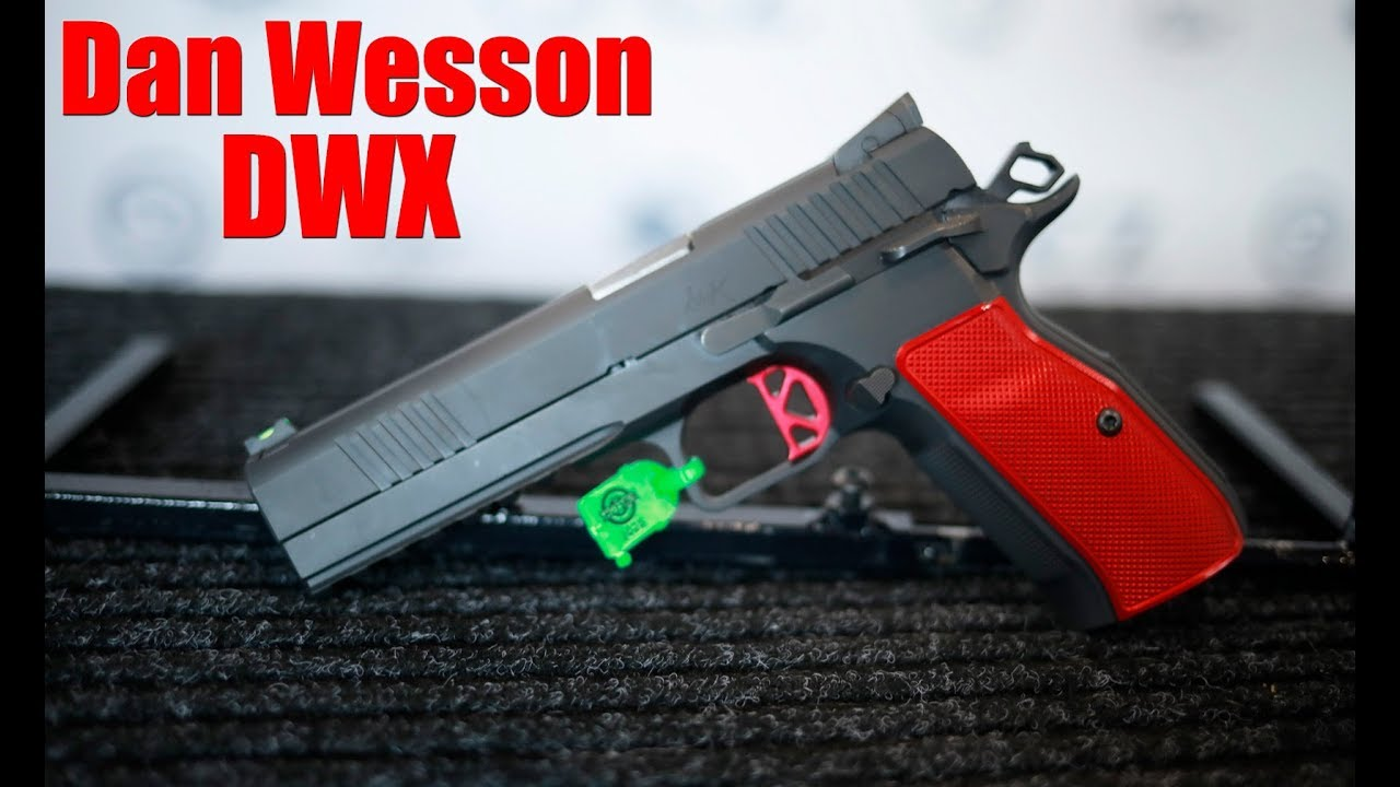 Dan Wesson DWX Full Size & Compact: CZ Booth Shot Show 2020