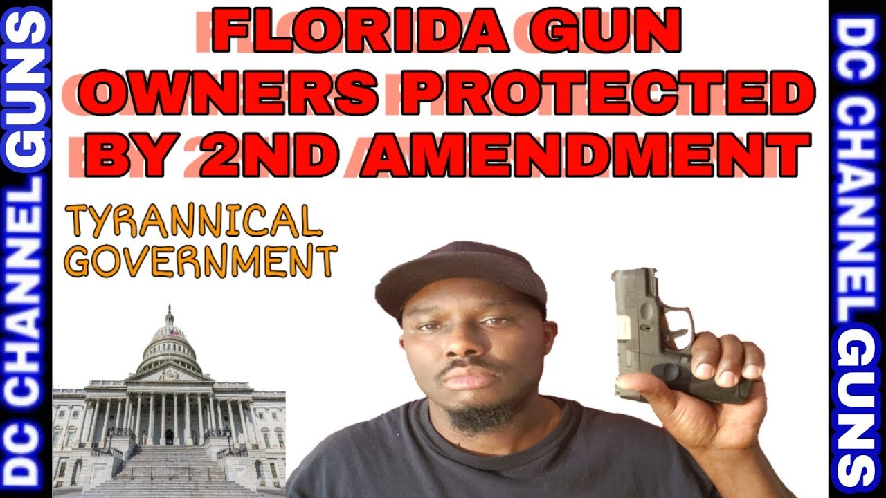 Florida Government Sue State To Regulate Firearms   GUNS