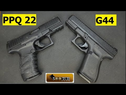 Glock G44 & Walther PPQ 22 Comparison