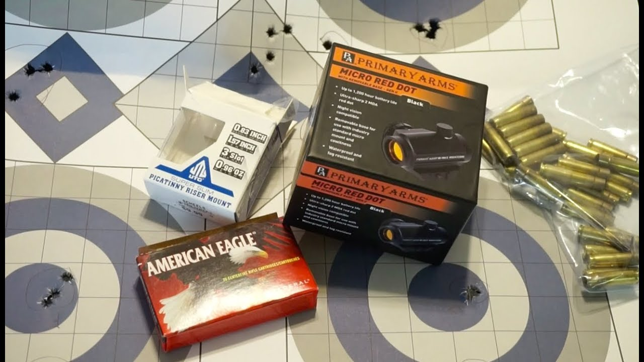Primary Arms Gen 2 Classic Red Dot Range Test and Tabletop Review
