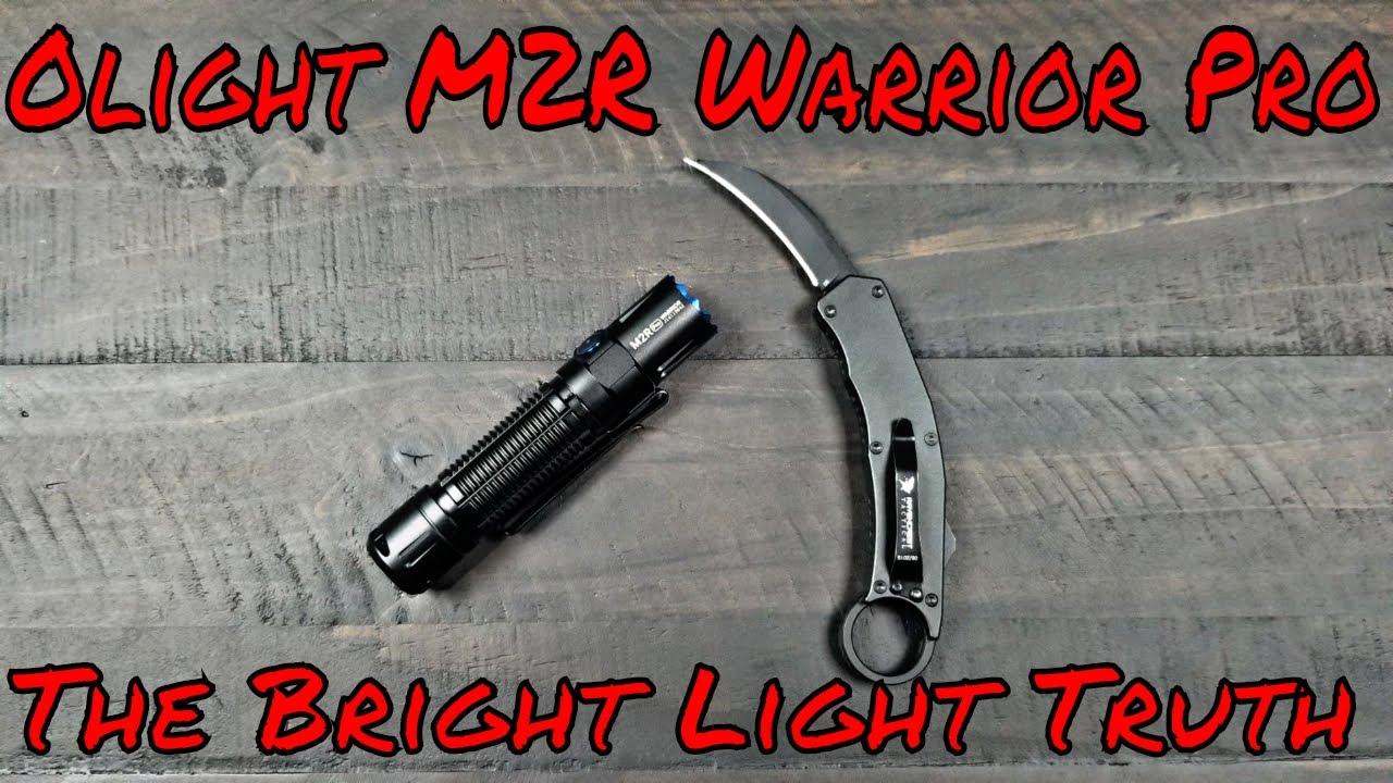 Olight M2R Warrior Pro Truth Why I didn't Reivew It!