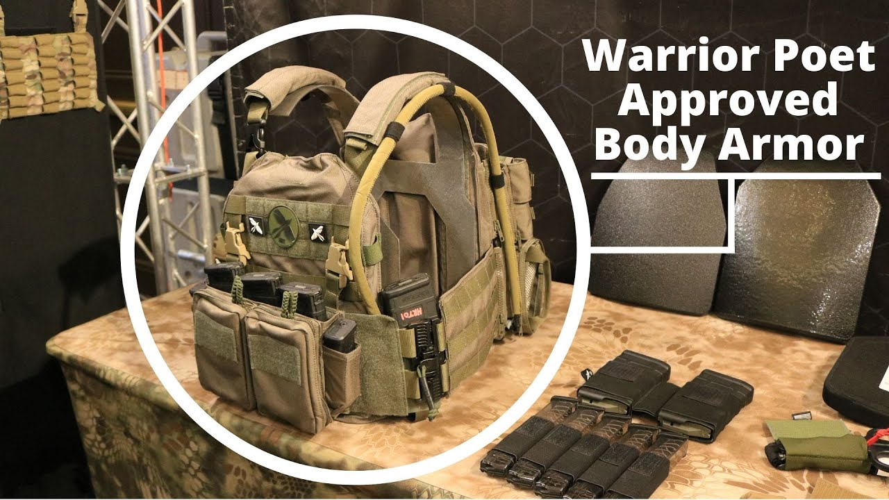 Warrior Poet Approved Body Armor -- HRT Tactical Gear at Shot Show 2020
