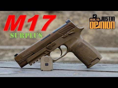 SIG Sauer M17 Service Pistol - Surplus