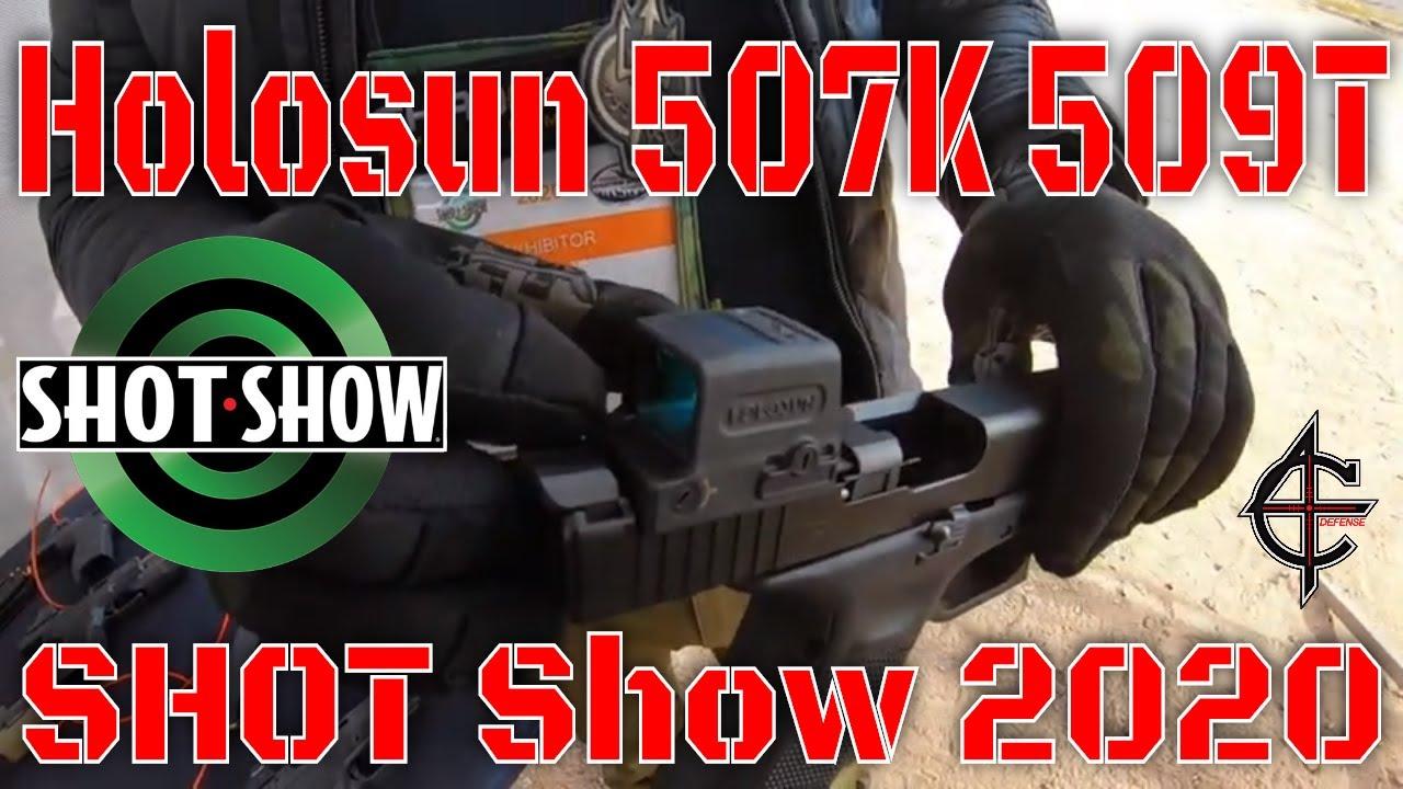 Holosun 507K 509T SHOT Show 2020