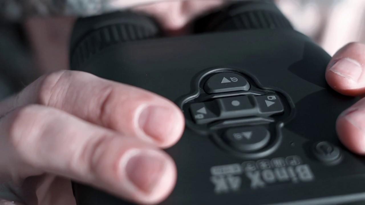 The ATN BinoX 4K 4-16x Smart Ultra HD Day/Night Binoculars With Laser Rangefinder