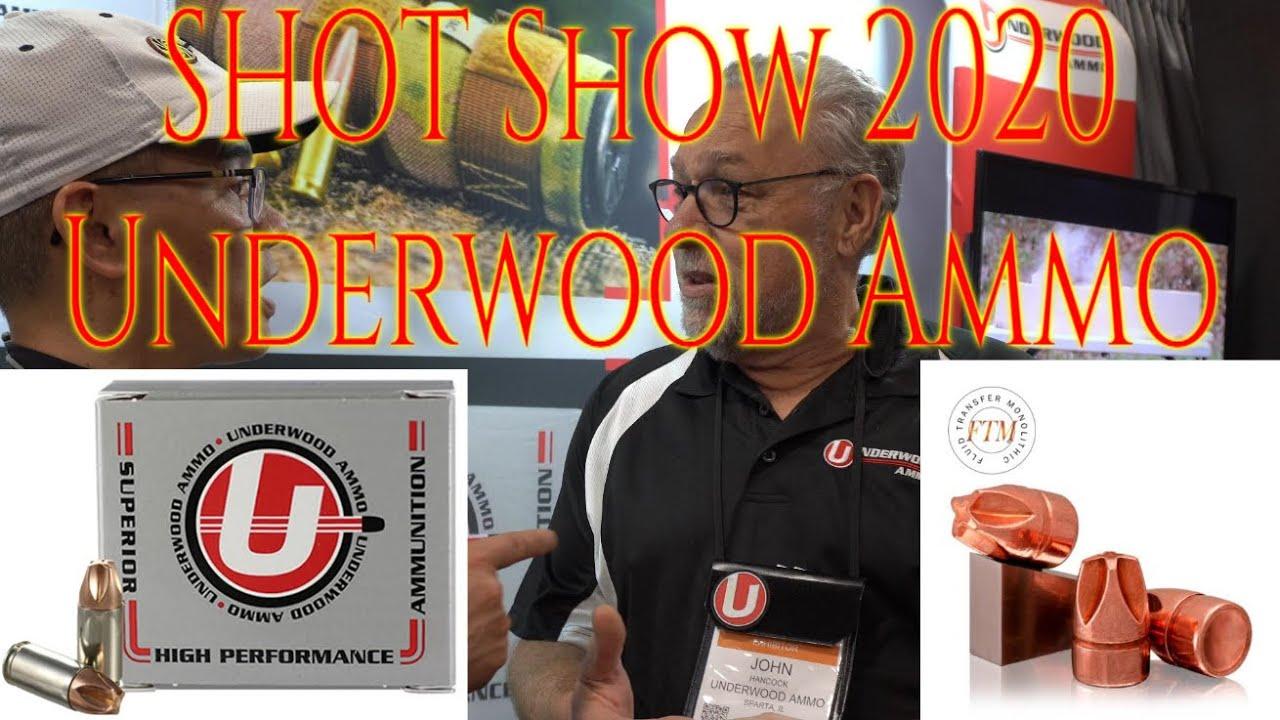 SHOT Show 2020 Underwood Ammo