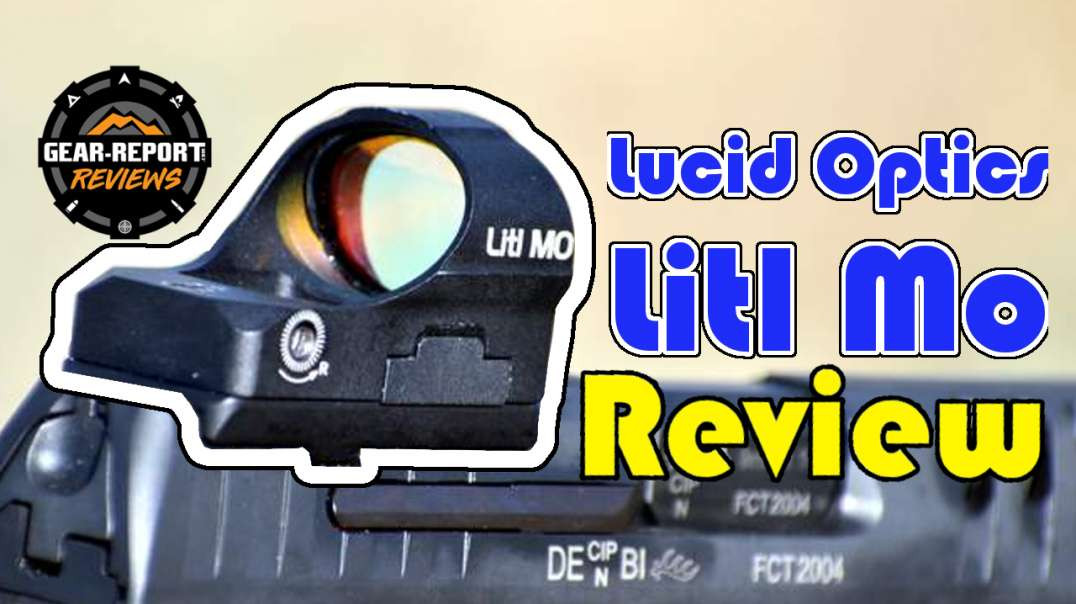 Lucid Optics Litl MO Red Dot Optic Review - 308 Micro Red Dot Mayhem!