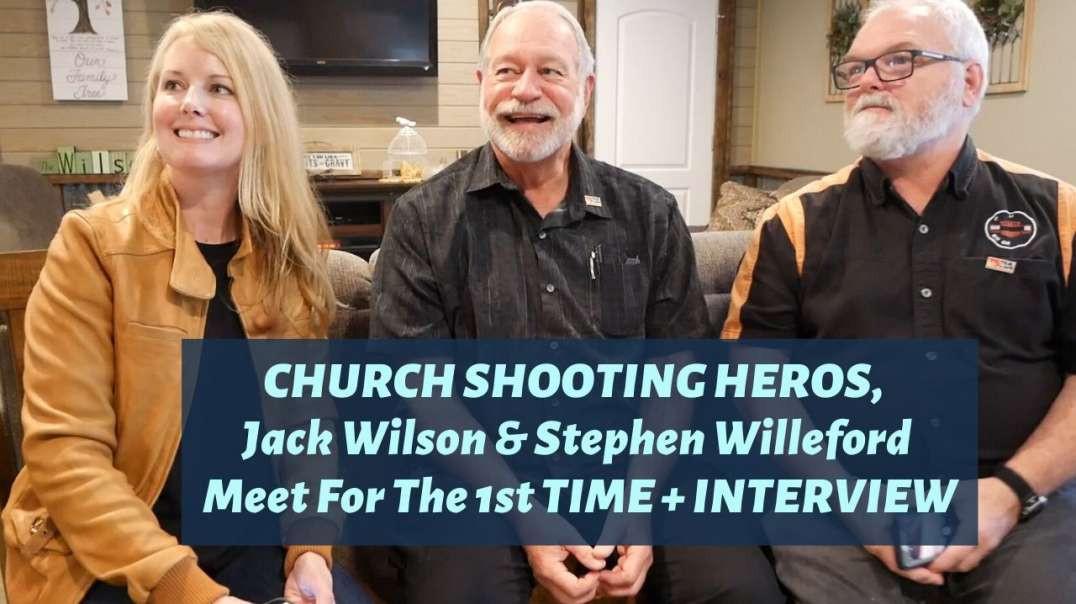 Interview w/ Texas Church Shooting Heroes, Jack Wilson & Stephen Willeford