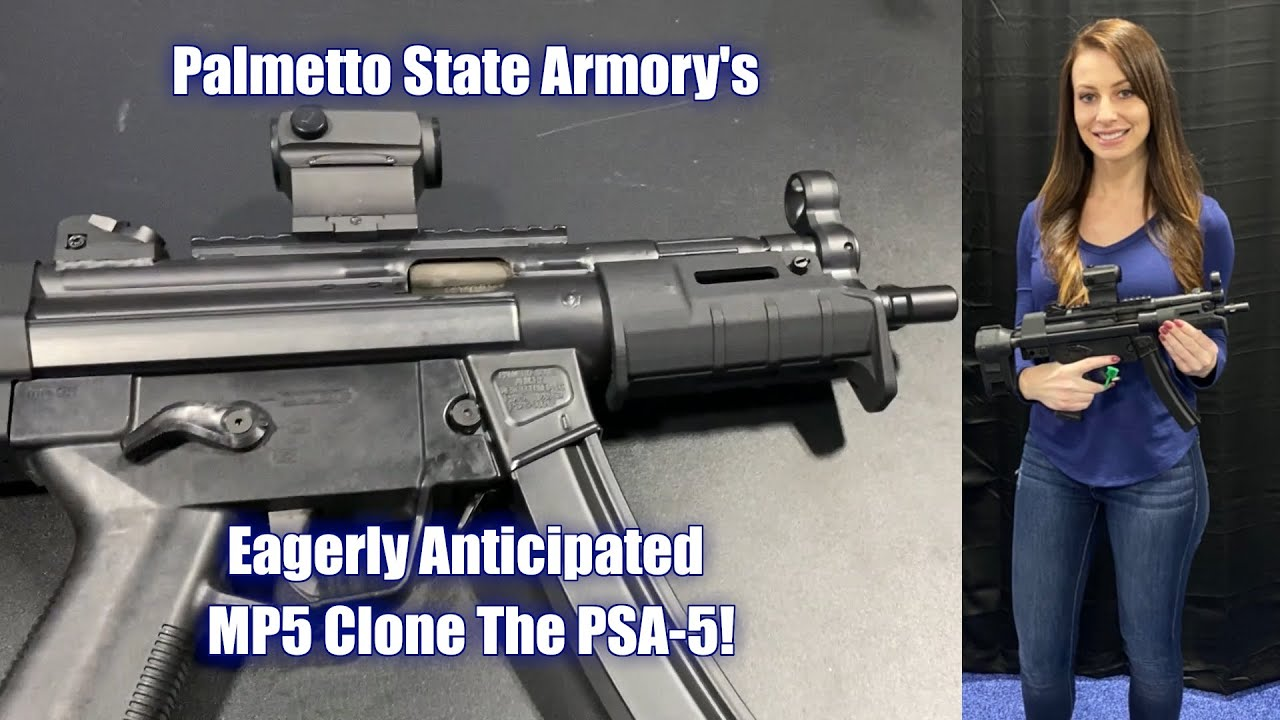 Palmetto State Armory's Eagerly Anticipated MP5 Clone - The PSA-5!
