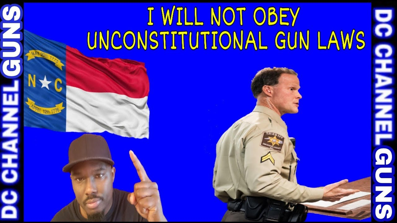 North Carolina Davidson County Sheriff's Say He Will Not Enforce Unconstitutional Gun Laws | GUNS