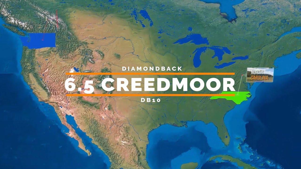 Diamond Back DB10 6.5 Creedmoor vs Nacho Cheese Can