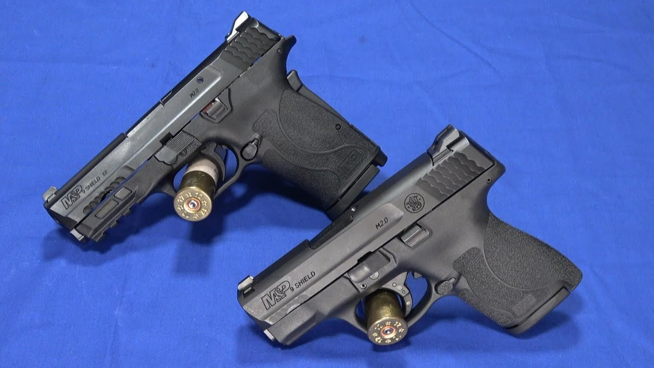 Choosing M&P Shield M2.0 or Shield EZ 9mm - Smith and Wesson