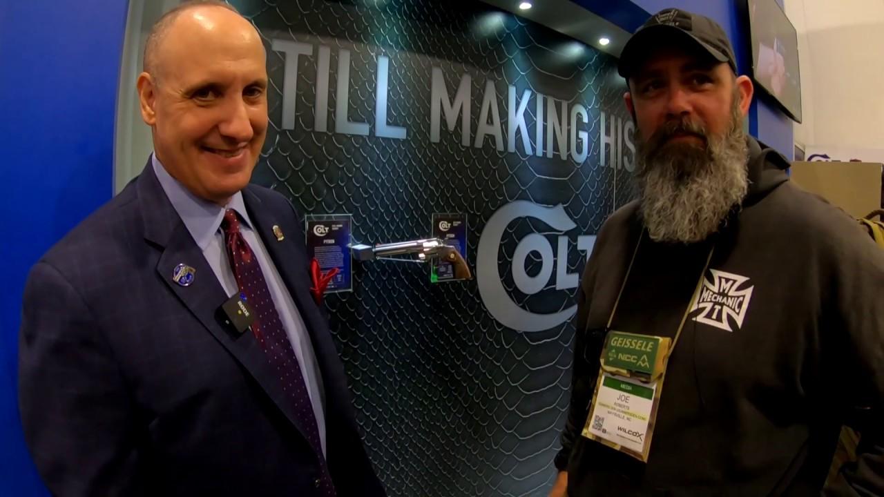SHOT Show 2020: Colt VP Showing The Colt Python, Talks About Issues