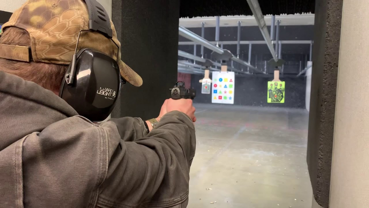First time shooting a Canik TP9SFX 9mm