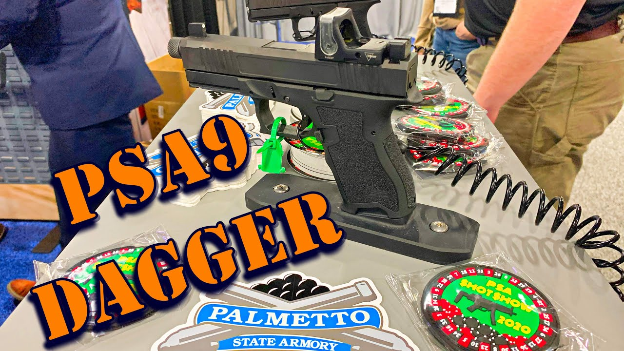 The New Budget Pistol King PSA9 Dagger SHOT Show 2020