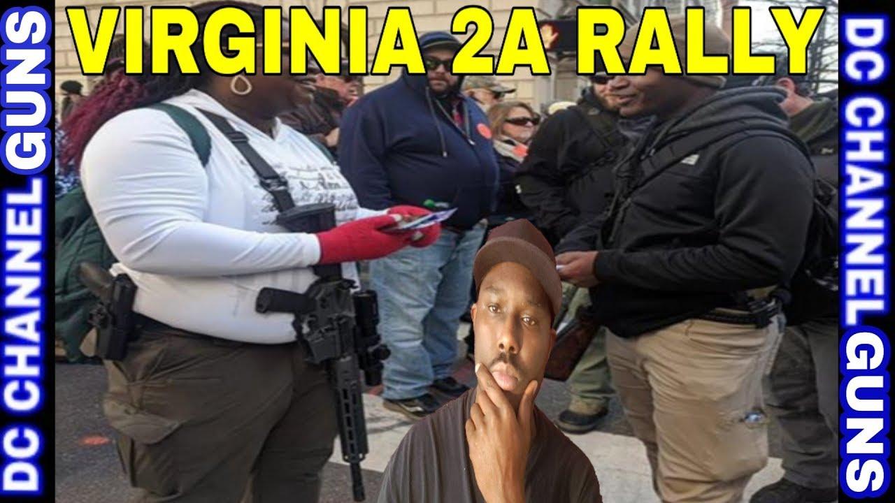 Virginia Black 2A Supporters Crush Democrats Narrative   GUNS