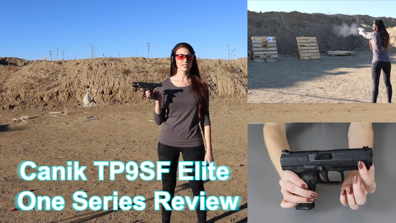 Canik TP9SF Elite Review - Great affordable handgun?