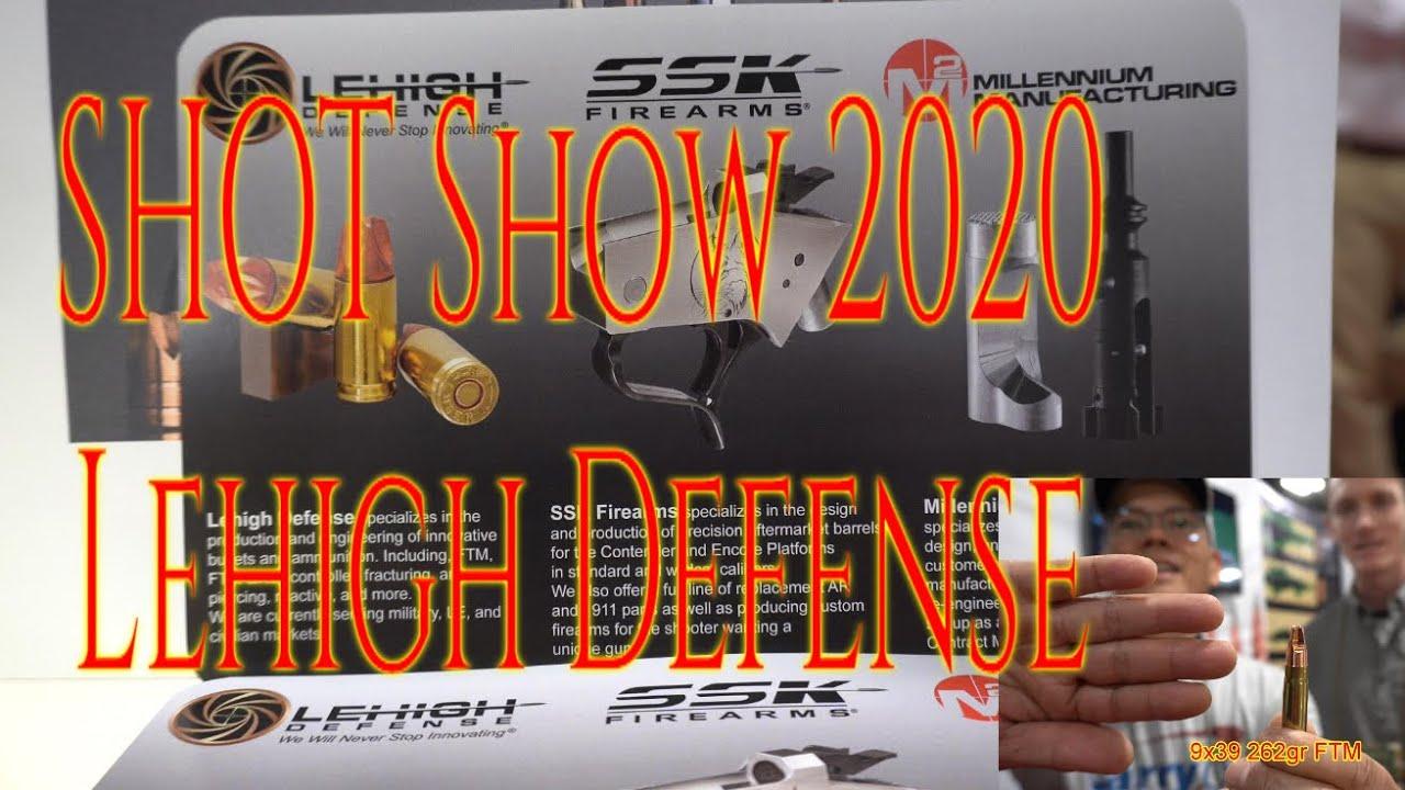 SHOT Show 2020 Lehigh Defense
