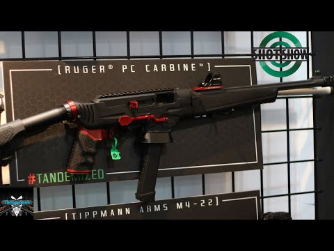 The Upriser a  brand new Ruger PC carbine chassis from Tandemkross