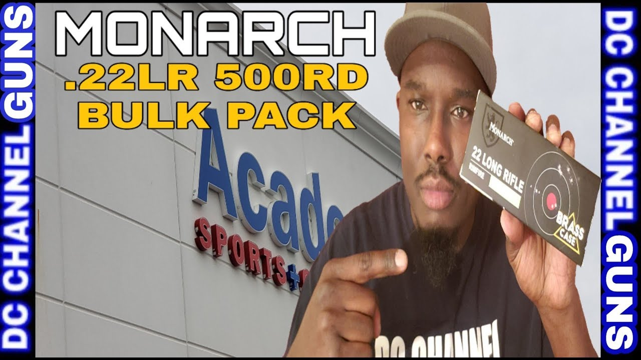 Ammo Score: Monarch .22lr 36gr 500rd Bulk Pack Academy Sport Shopping | GUNS